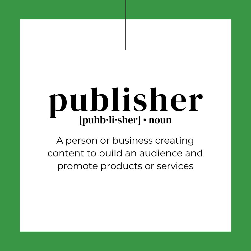 DIY Marketing publisher affiliate marketing